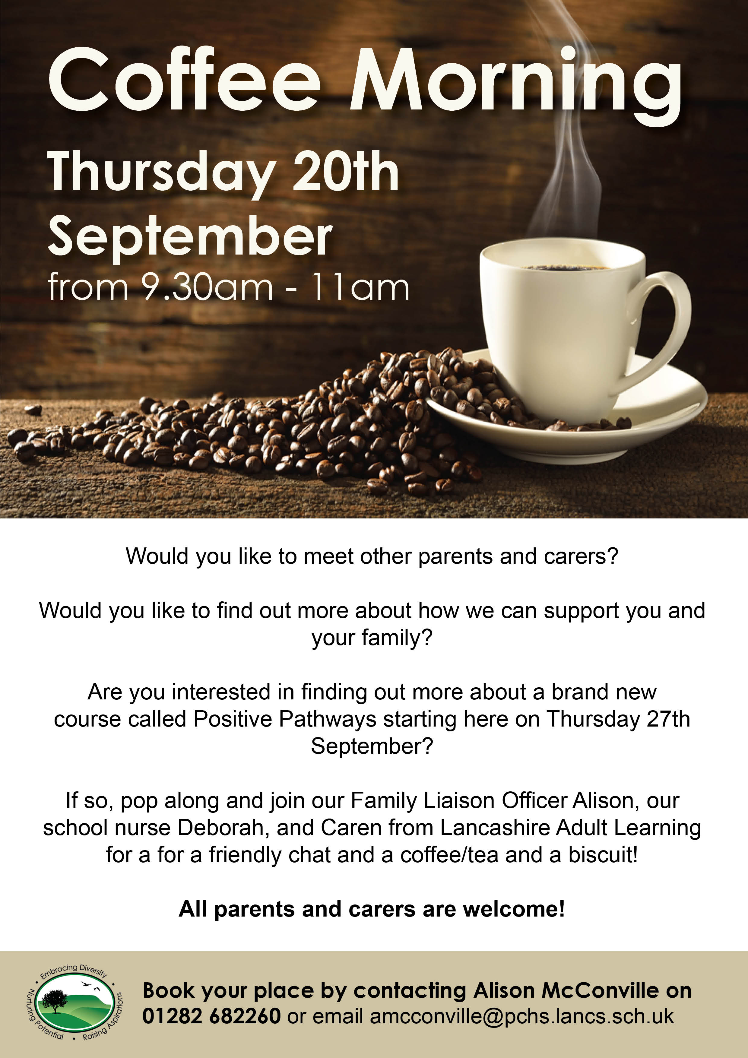 Coffee Morning 20th Sept Website