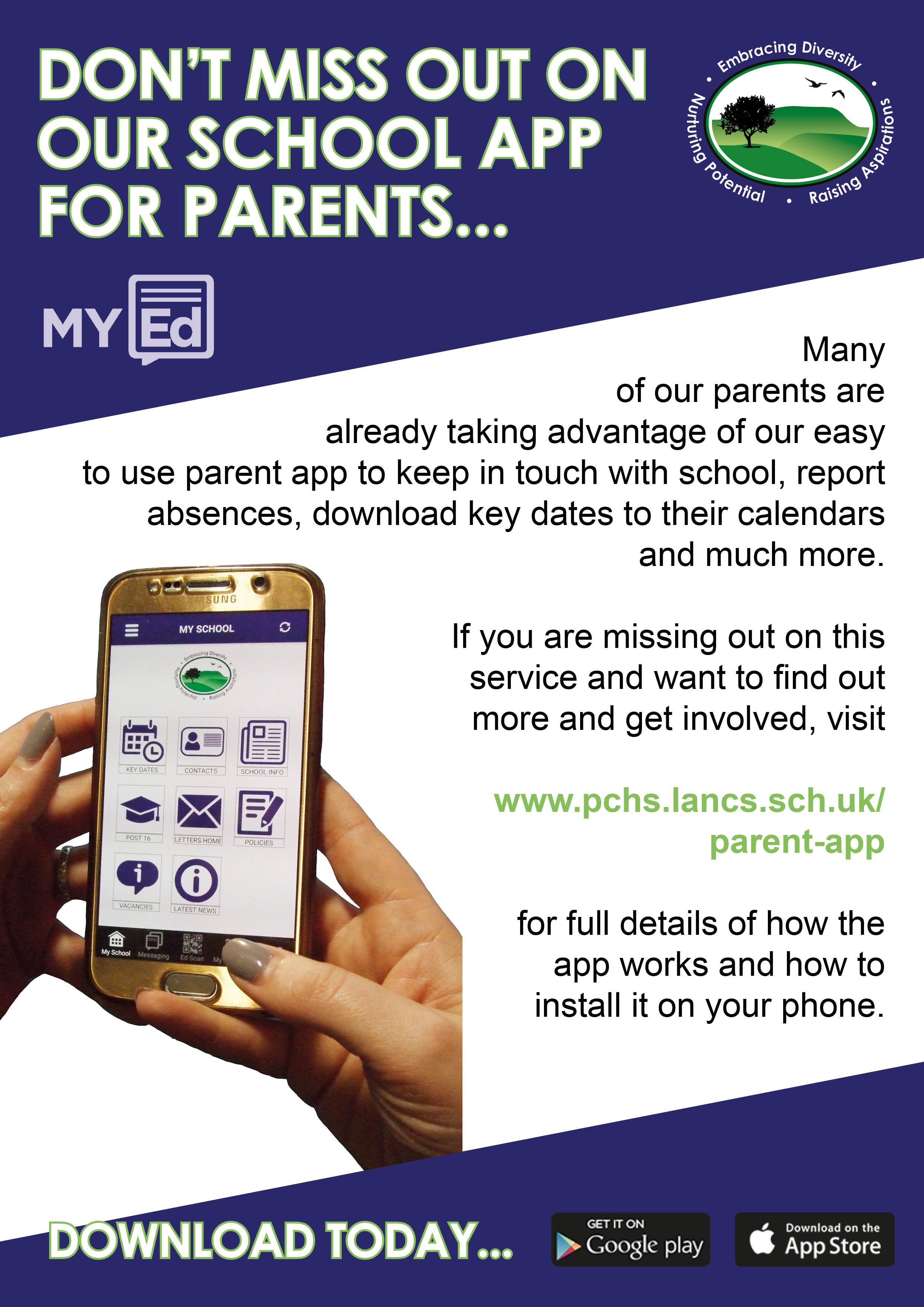 Parent app update