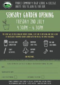 Sensory Garden Opening