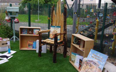 D.T. group create amazing storyteller chair!