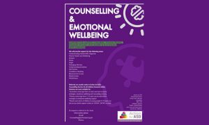 Counselling and Emotional Wellbeing