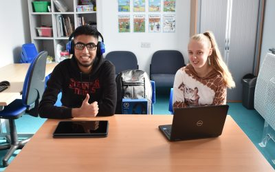 Free laptops help digital inclusion at PCHS&C